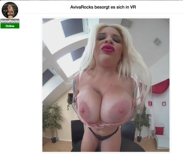 Riesige Titten in Virtual Reality? Kein Problem mit diesem VR Porno von Aviva Rocks!